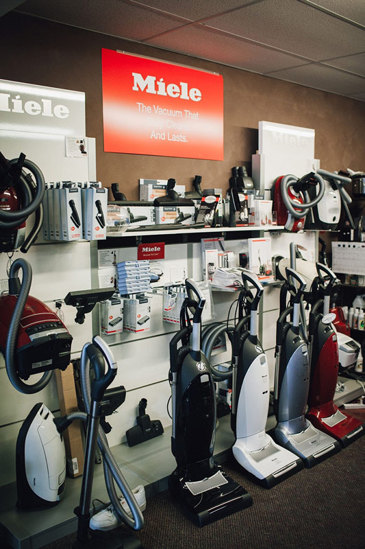 Image of our Miele display