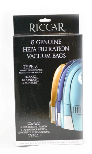 Riccar Type Z Genuine HEPA - 6 Pack, RZH-6